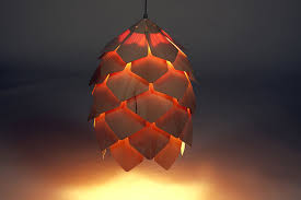 contemporary lighting. Contemporary Lighting Design Of Crimean Pinecone Hanging Lamp By Pavel Eekra