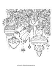 The best coloring pages include santa clause, stuffed stocking, christmas trees, reindeer, presents and so much more. Christmas Coloring Pages Free Printable Pdf From Primarygames