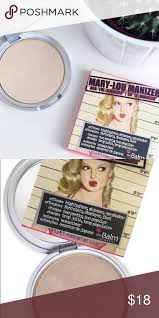 authentic the balm mary lou manizer there are a lot of fake duplicates of this these are the real deal and ed at a good
