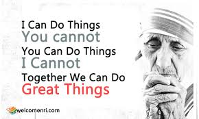 Image result for Quote on together we can do great things