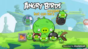 Angry Birds Seasons Mod Sprite: Angry Pigs GamePlay - YouTube