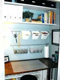 closet office desk. Small Closet Office Large Size Of Desk Awesome Storage Ideas