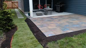 ideas collection portland landscaping wonderful slate pavers front lawn mulch front yard landscaping with boulders patio