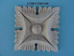 decorative wooden center applique furniture mouldings onlay wk12 1 of 4free