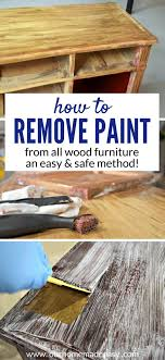 how to remove paint and varnish from wood furniture to see how to do it easy the first time