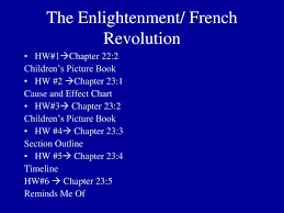 French And Russian Revolution Venn Diagram Ppt The Enlightenment French Revolution Powerpoint