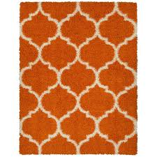 5 x 7 ottomanson area rugs rugs the home depot lifestyle gy collection orange 5 ft 3 in x 7 ft