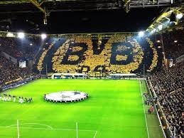 25000 fans can pack into this part of the club's westfalenstadion and. Borussia Dortmund S Tifo Today Proves Again There S No Atmosphere Like What S In The Westfalenstadion