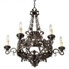 franklin iron works dark bronze 28 wide 6 light chandelier espan us