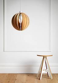 sphery30 wooden light shade