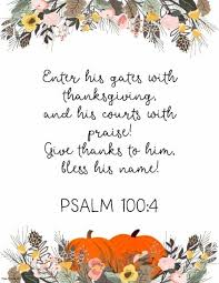 Thanksgiving Quotes In The Bible Custom Thanksgiving Quotes From Bible Make A Free Poster Online