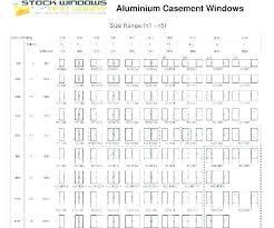 Andersen Window Size Chart Soalmatematika Co