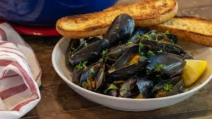 Mussels with White Wine and Garlic Recipe