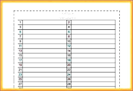Free Electrical Panel Schedule Template Download Schedules