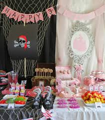 Princess and Pirate Birthday Party: