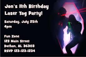 Free Laser Tag Invitation Template Laser Tag Invitations Printable Laser Tag Birthday Invitations Free