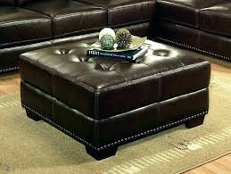 table round white leather ottoman coffee table bed henley neptune