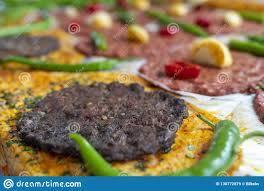 Türkischer Papierkebab, Türkisches Kagit Kebabi, Antakya-kagit Kebap  Stockbild - Bild von köstlich, teller: 130772879