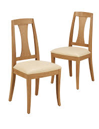 Burchill Leather Dining Chairs MS - Marks and spencer dining room chairs