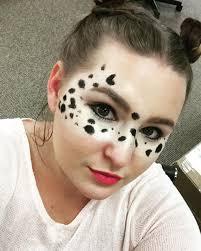 easy puppy makeup idea