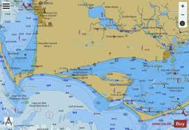 Apalachicola Bay To Lake Wimico Side A Marine Chart