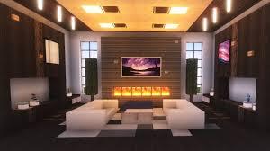 minecraft modern living room tutorial