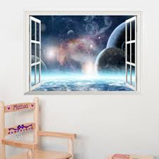 Outer Space Bedroom Decor Popular Outer Space Stickers Buy Cheap Outer Space Stickers Lots