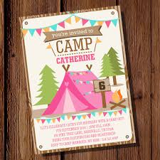 Printable Next Big Adventure Nature Hiking Camping OutdoorCamping Themed Baby Shower Invitations