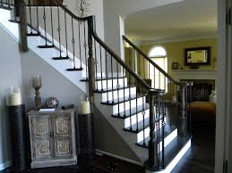replacing wooden stair baers spindles with wrought iron with
