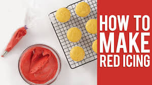 Color Right Wilton Chart How To Make The Perfect Shade Of Christmas Red Icing For Buttercream Royal