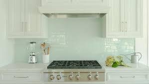 kitchen white glass backsplash. White Kitchen Cabinets With Blue Glass Tile Backsplash