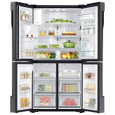 Innovative Kitchen Appliances Samsung 36 225 Cu Ft 4 Door French Door Refrigerator With Led