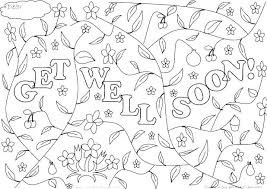 Get Well Soon Coloring Pages Free Printable Get Well Cards Get Well