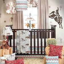cowboy baby bedding sets chevron country western boys nursery 3 piece crib set