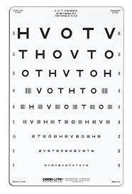 Vision Screening Chart Texas Wide Spaced Crowded Hotv Chart 10 Foot