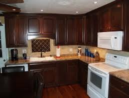 dark stained kitchen cabinets. You Are On Dark Maple Kitchen Cabinets Page. We Provide Related Cabinets, Article Base Our Database. The With Stained E
