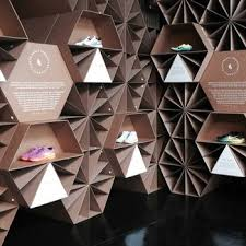 Origami Display Stand Mesmerizing 32 Best Stands Ideas Images On Pinterest Exhibition Booth Design