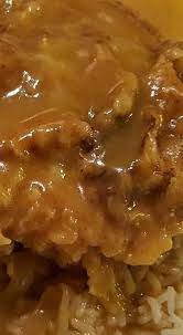 Easy Smothered And Fried Pork Chops And Rice RecipeCountry Style Smothered Pork Chops