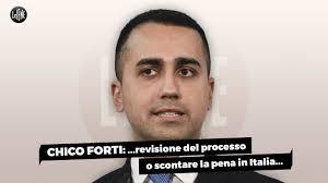 Chico Forti, Di Maio: