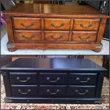 chalk paint furniture before and afterBefore and After Coffee Table in Maison Blanche Chalk Paint