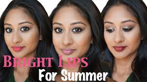 summer lipsticks for indian brown middle eastern tan skin makeup by megha you