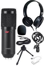 Lastvoice BM800BKC Black Condenser Mikrofon Kulaklık Seti - Lastvoice.com.tr