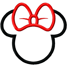 mickey mouse silhouette template and wallpaper black white i for cameo
