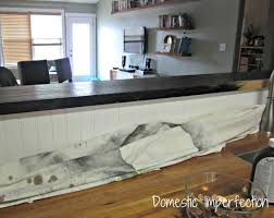 diy penny countertop paint