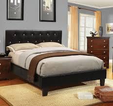 Velen Platform Bed (Black)