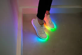 Nike Led Light Up Shoes Diy Light Up Shoes Learn Sparkfun Com