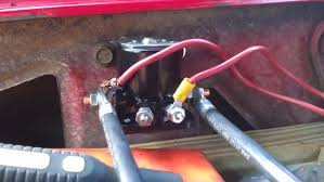 ford 3000 starter solenoid wiring ford image ford solenoid mod question the 1947 present chevrolet gmc on ford 3000 starter solenoid wiring