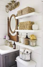 towel storage above toilet. Over The Toilet Storage And Design Options For Small Bathrooms. View Larger Towel Above L