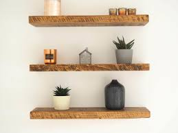 premium chunky rustic wooden floating