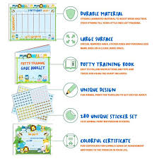 Potty Training Charts For Kids Potty Training Chart For Toddlers Reward Your Child Sticker Chart 4 Week Chart